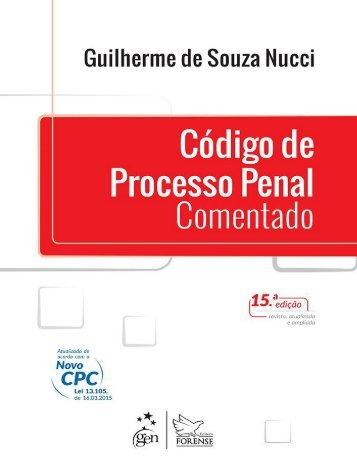 Código de Processo Penal Comentado (2016) - Guilherme de Souza Nucci