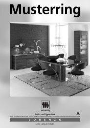 Musterring LORENZO - Möbel Rulfs