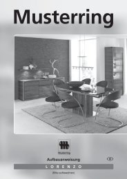 Aufbauanweisung Lorenzo.indd - Möbel Rulfs