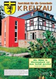 Amtsblatt Nr. 03/2007 vom 30.03.2007 - Gemeinde Kreuzau