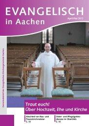 cambioWahl 2012 - Evangelische Kirchengemeinde Aachen