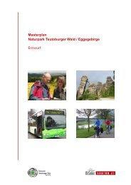 Masterplan Naturpark Teutoburger Wald / Eggegebirge Entwurf - FDP