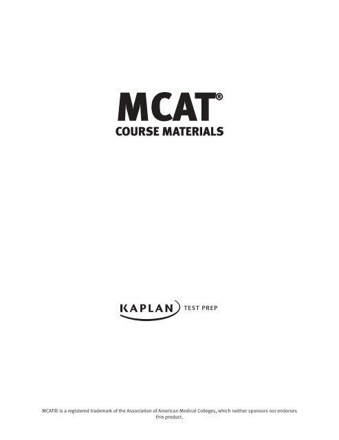 MCAT® C
