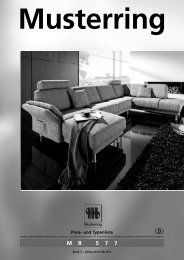 MR 5 7 7 Musterring - Möbel Rulfs