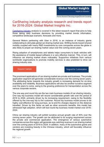 Carsharing Market  Wordpress