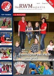 www.rwm-online.de5 - Moral der Zweiten wird nur mit Punkt belohnt