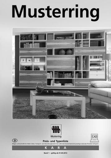 KARA Musterring - Möbel Rulfs