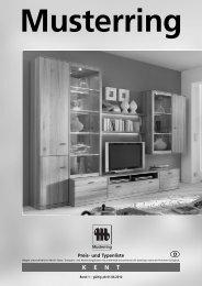 KENT Musterring - Möbel Rulfs
