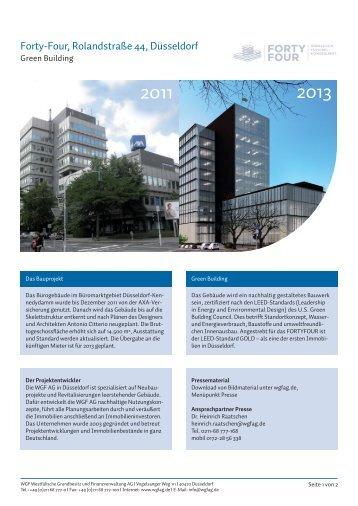 Forty-Four, Rolandstraße 44, Düsseldorf - WGF AG