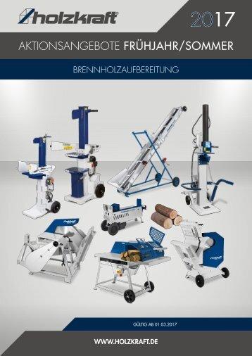 Schub HOLZKRAFT Brennholz FjSo 2017