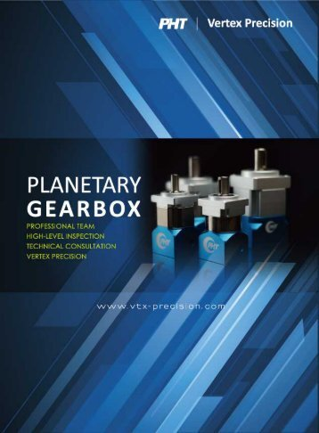 PHT Vertex Precision_Gearboxes