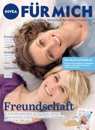 NIVEA FÜR MICH Magazin – Sommer 2017