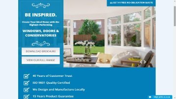 High Quality Windows,Doors,Conservatories