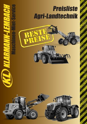 Preisliste Agri-Landtechnik