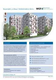 Factsheet Keibelstrasse de V4.pdf, Seiten 1-2 - WGF AG