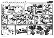 Miele DAR 1225 - Plan de montage