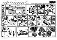 Miele DAR 1255 - Plan de montage