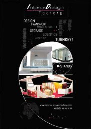 Interior Design Factory Catalog 2017-2018