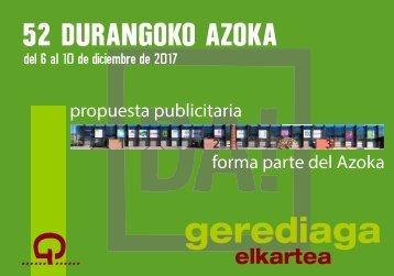 AZOKA DURANGO 2017
