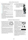 KitchenAid JC 213 WH - JC 213 WH HU (858721399290) Istruzioni per l'Uso - Page 7