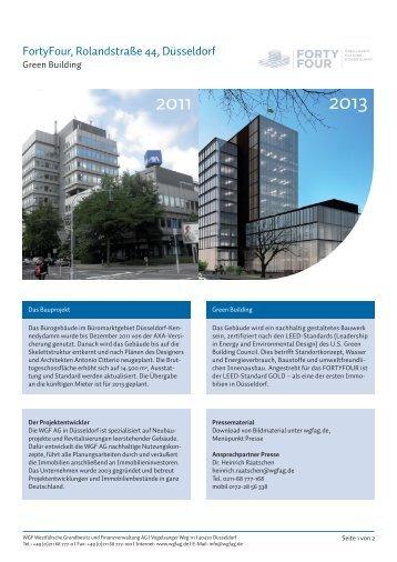 Factsheet | Rolandstraße 44, Düsseldorf (PDF-Datei 3,2