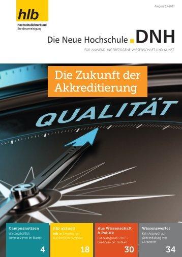 Die Neue Hochschule Heft 3/2017