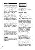 Sony MHC-GT4D - MHC-GT4D Consignes d'utilisation Norvégien - Page 2
