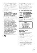 Sony MHC-GT4D - MHC-GT4D Consignes d'utilisation Norvégien - Page 3
