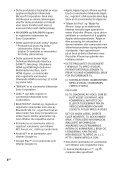 Sony MHC-GT4D - MHC-GT4D Consignes d'utilisation Norvégien - Page 4