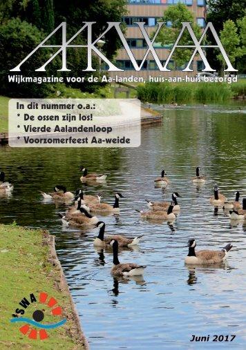 Wijkblad Aakwaa juni 2017