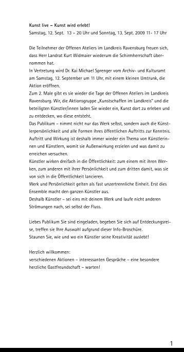art anders - Kulturserver Baden-Württemberg