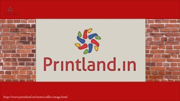 Buy Personalized Coffee Mugs Online in India at Printland.in