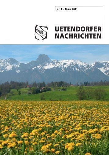 UETENDORFER NACHRICHTEN - Gemeinde Uetendorf