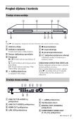 Sony BDP-S480 - BDP-S480 Consignes d'utilisation Croate - Page 7