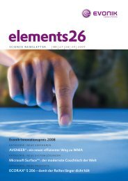 Elements26 - Evonik Industries AG