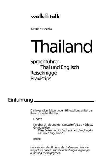 Thailand Sprachführer - Easythailand