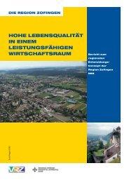 die region zofingen hohe lebensqualität in einem leistungsfähigen ...
