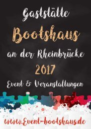 Bootshaus News2017