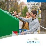 Die Abfallfibel 2011 - Stadt Bayreuth