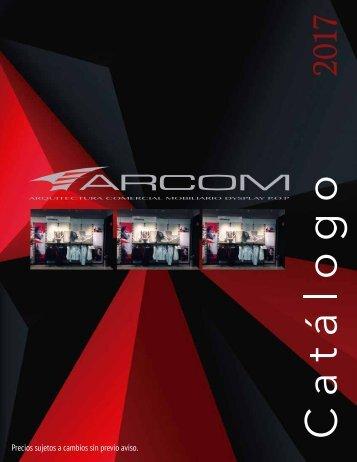 Catalogo Arcom Negro Rojo
