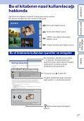 Sony DSC-WX5 - DSC-WX5 Consignes d'utilisation Turc - Page 2
