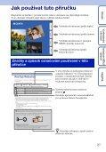 Sony DSC-WX5 - DSC-WX5 Consignes d'utilisation Tchèque - Page 2