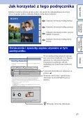 Sony DSC-WX5 - DSC-WX5 Consignes d'utilisation Polonais - Page 2