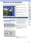 Sony DSC-WX5 - DSC-WX5 Consignes d'utilisation Néerlandais - Page 2