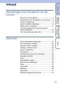 Sony DSC-WX5 - DSC-WX5 Consignes d'utilisation Néerlandais - Page 5