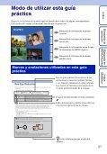 Sony DSC-WX5 - DSC-WX5 Consignes d'utilisation Espagnol - Page 2