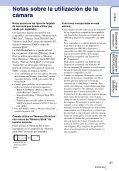Sony DSC-WX5 - DSC-WX5 Consignes d'utilisation Espagnol - Page 3