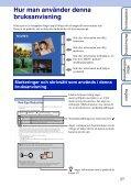 Sony DSC-WX5 - DSC-WX5 Consignes d'utilisation Suédois - Page 2