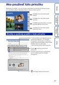 Sony DSC-WX5 - DSC-WX5 Consignes d'utilisation Slovaque - Page 2