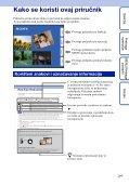 Sony DSC-WX5 - DSC-WX5 Consignes d'utilisation Croate - Page 2
